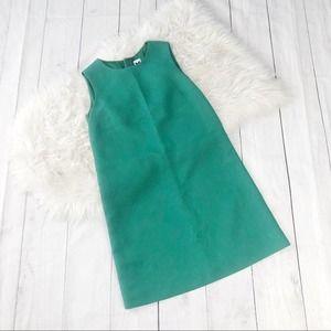 M Missoni Textured Green Shift Dress Size 4